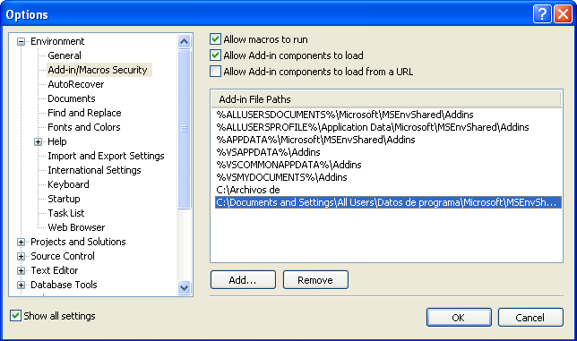 Integrar WSE 3.0 en Visual Studio 2008
