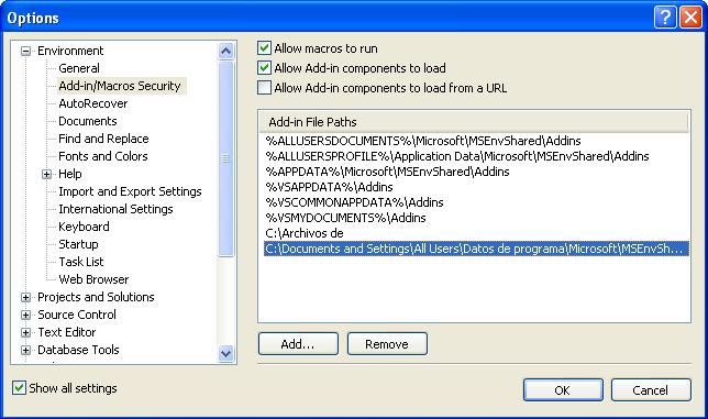 Integrar WSE 3.0 en Visual Studio 2008