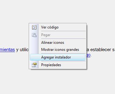 Agregar instalador en Windows Service